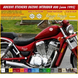 Kit adesivi carene replica SUZUKI INTRUDER 800 (anno 1995)