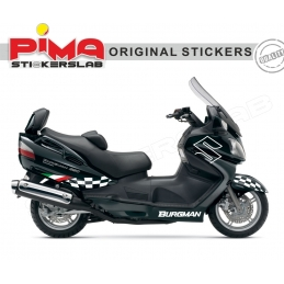 ADESIVI STICKERS SUZUKI BURGMAN 650 - KIT N. 1