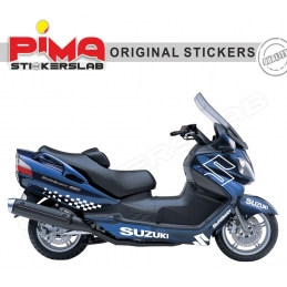 ADESIVI STICKERS SUZUKI BURGMAN 650 - KIT N. 2