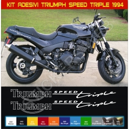 Kit Adesivi Stickers Triumph Speed Triple 1994